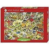 HEYE Puzzle  ヘイパズル  29406  Marino Degano  :  Dragontown  (1000 pieces)