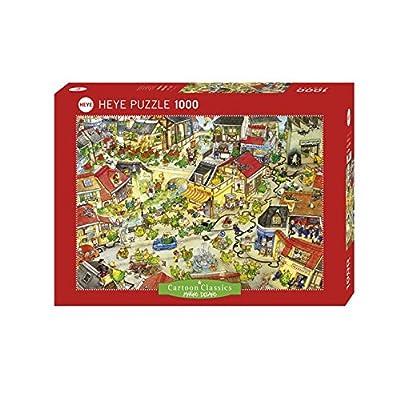 Heye Puzzle Citt Dei Draghi 1000 Pezzi Multicolore 29406