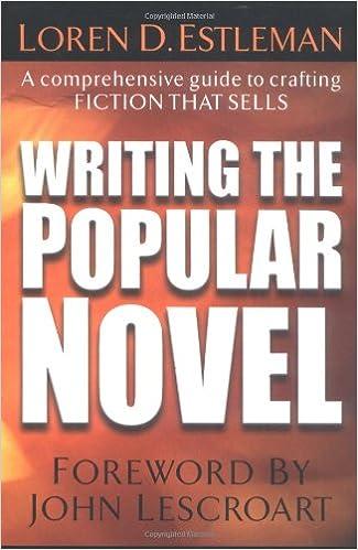 Amazon Com Writing The Popular Novel 0035313109355 Loren D