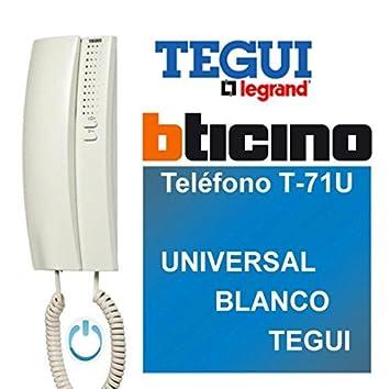 Legrand Bticino Telefon t-71u universal, Weiß Legrand / Bticino 374240