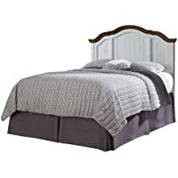 Home Styles 5518-501 The French Countryside Headboard, Full/Queen, Oak/Rubbed White