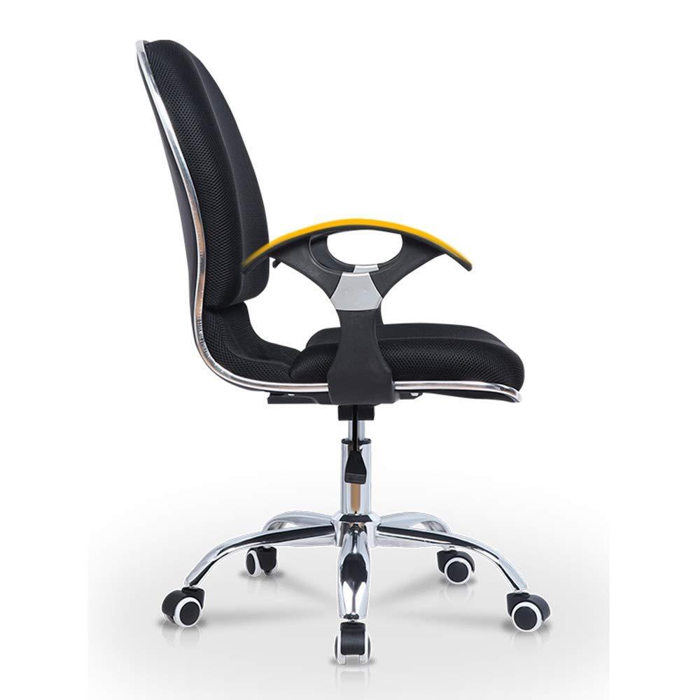 Barstolar Xiuyun datorstol lång tid arbetarhem kontor skrivbord stol hushåll enkelhet svamp fyllning syntetisk fiber (färg: blå) BLÅ
