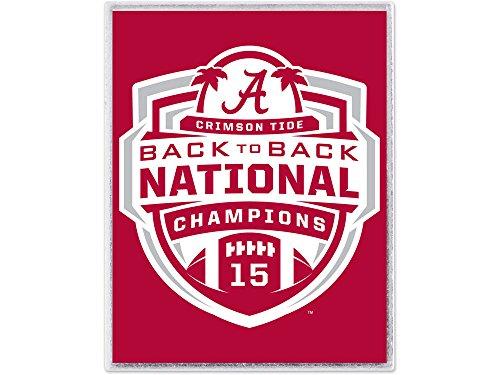 2013 Ncaa Football Champion - Wincraft NCAA Alabama Crimson Tide Football 2013 BCS Champions Lapel Pin