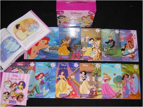 Disney Princess 12 Hardcover Storybook Library Set by Disney (Image #1)