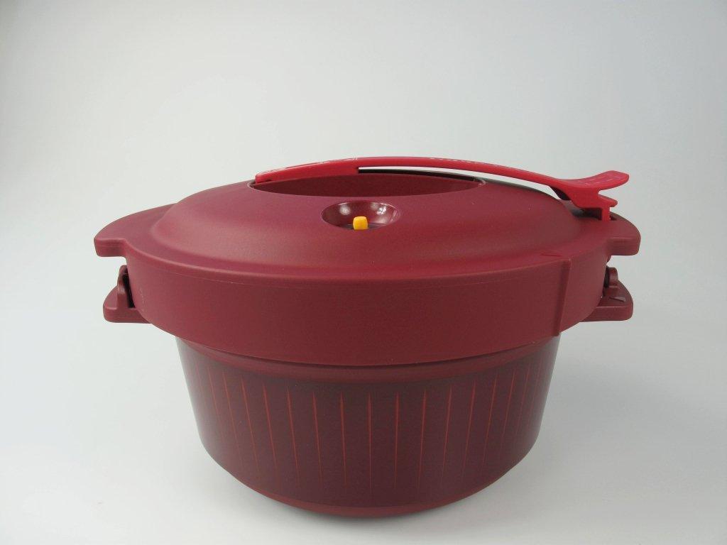 TUPPERWARE Micro Microonde Pentola a Pressione per Microonde 3, 0 L rosso 8138
