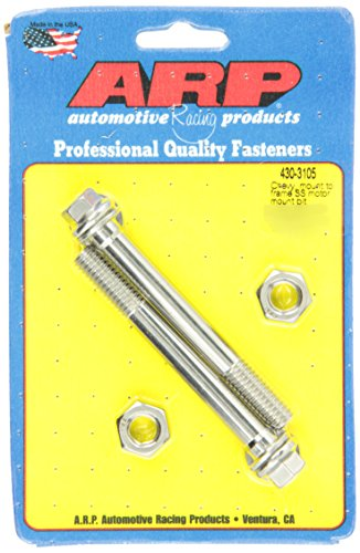 ARP 4303105 Stainless 300 Hex Motor Mount Bolt Kit