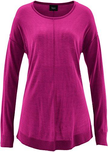 Damen Oversize-Pullover, 240386 in Violettorchide 32/34