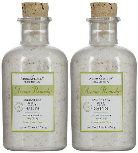 Aromafloria Aroma Remedy Spa Salt, 23 oz, 2 pk