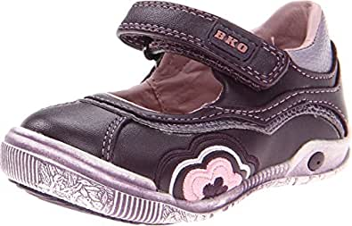 Beeko Baby Girl's Natalie II (Infant/Toddler) Purple Flat 20 (US 4.5-5 Toddler) M