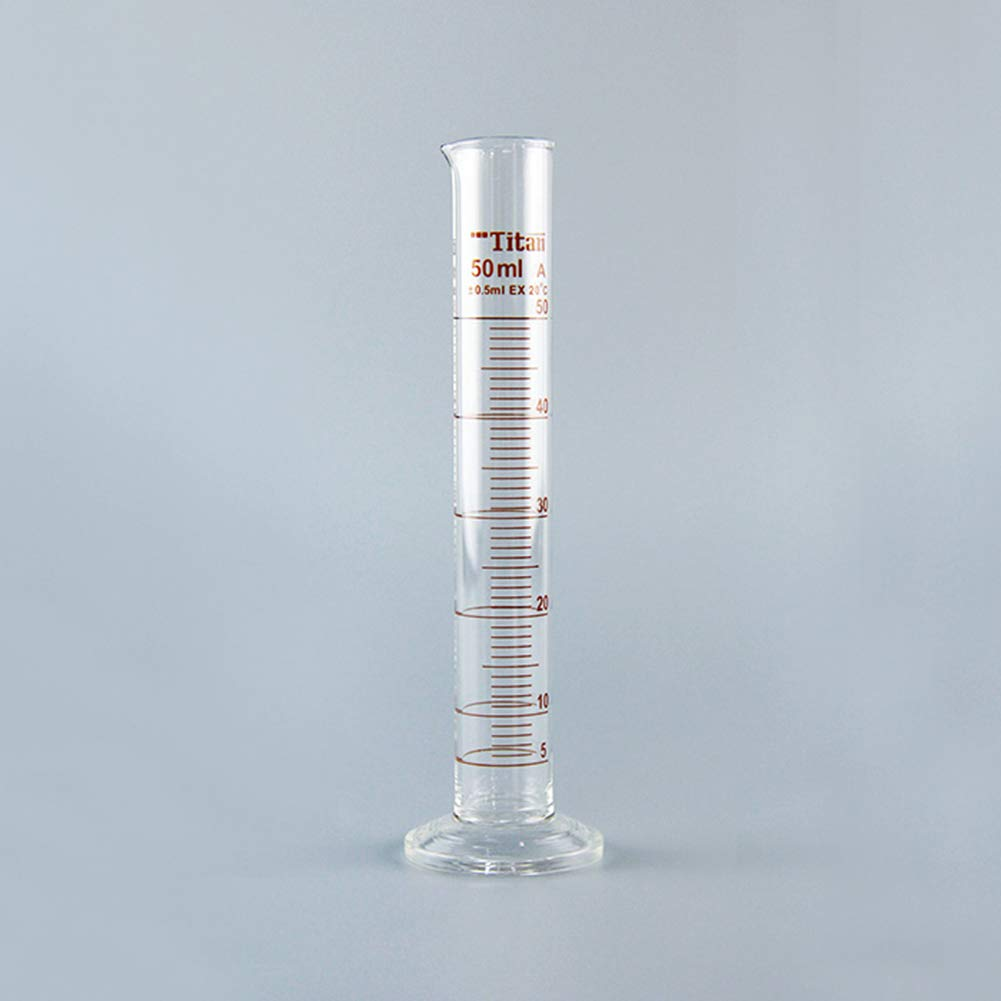 1000ml Graduated Cylinder Class A Metric Scale Pack of 2 Borosilicate 3.3 Glass