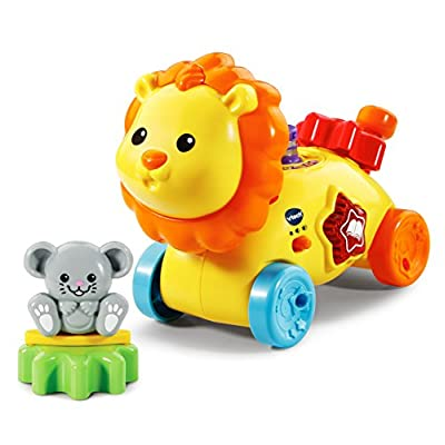 VTech Gearzooz Gearbuddies Lion & Mouse, Yellow: Toys & Games