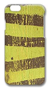 ACESR Awesome iPhone 6 Cases, Brown Stripes PC Hard Case Cover for Apple iPhone 6 (4.7 INCH) - 3D Design iPhone 6 Case