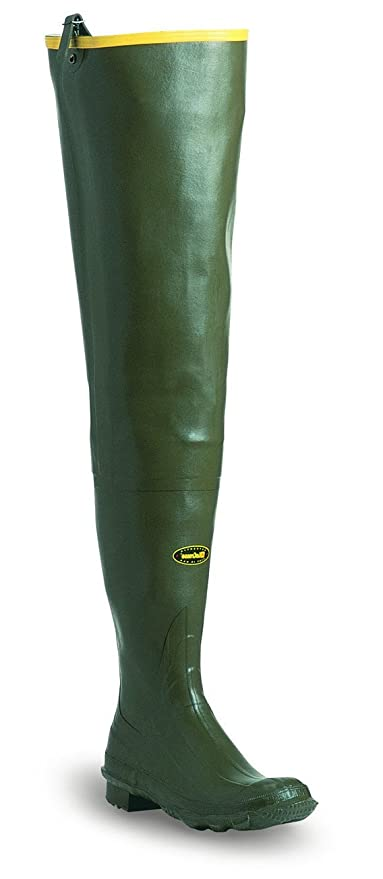 LaCrosse Men's Big Chief 32 Green 600G Wader Boots, 8-Medium