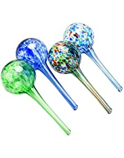 Sungmor Glass Watering Globes - Indoor Outdoor Plants Drippers - Automatic Watering Bulbs Equipment - Best Garden Potted Plant Waterer Dripping Bulbs