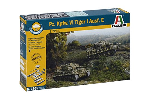 Italeri Pz. Kpfw. VI Tiger I Ausef. E Model Kit