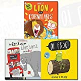 img - for There's a Lion in My Cornflakes and You Can't Take An Elephant On the Bus Collection Oi Frog 3 Books Bundle by Michelle Robinson (2016-11-09) book / textbook / text book