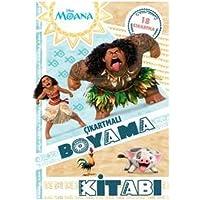 Disney Moana - Çıkartmalı Boyama Kitabı: 18 Çıkartma
