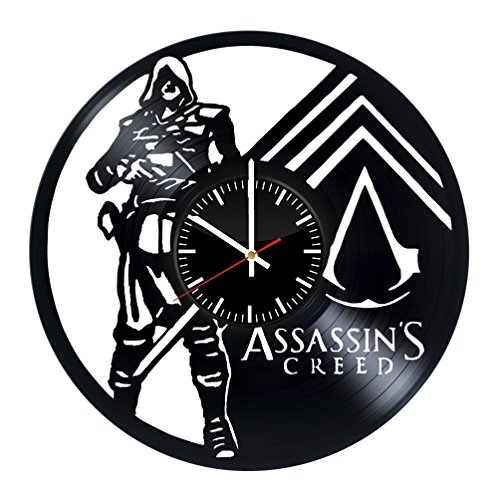 Empire Records Costume - Assassin's Creed Vinyl Record Wall Clock . Get unique home room wall art decor. Cool gift ideas for boys, girls, kids, teens, men and women.