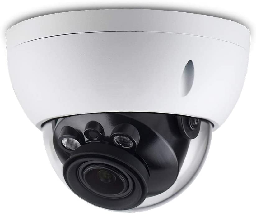 6MP Varifocal Poe IP Security Camera IPC-HDBW4631R-ZS 2.7mm 13.5mm Lens Motorized 5X Optical Zoom Outdoor Indoor Video Surveillance Camera Dome with 50m IR Night Vision,H.265,IK10,ONVIF,IP67