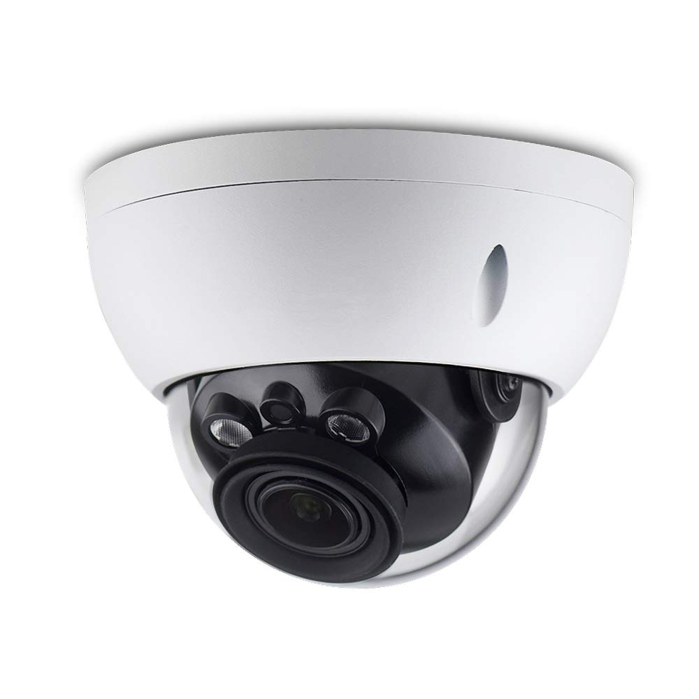4MP Varifocal Poe IP Security Camera IPC-HDBW4433R-ZS 2.7mm 13.5mm Lens Motorized 5X Optical Zoom Outdoor Indoor Video Surveillance Camera Dome with 50m IR Night Vision,H.265,IK10,ONVIF,IP67