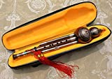 Professional Yunzhi Chinese Hulusi Gourd Cucurbit Flute Bb Wind Instrument with Case