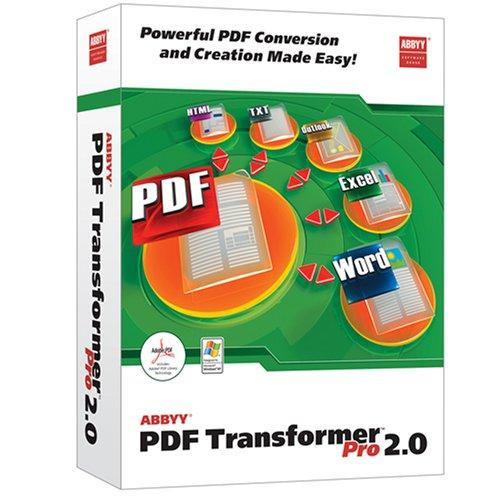 Abbyy Pdf To Word Transformer