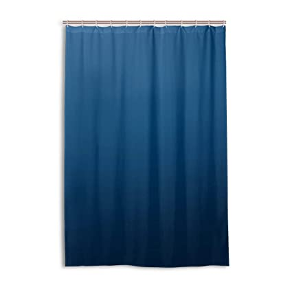 Amazon DNOVING Shower Curtain Royal Blue Stall Polyester
