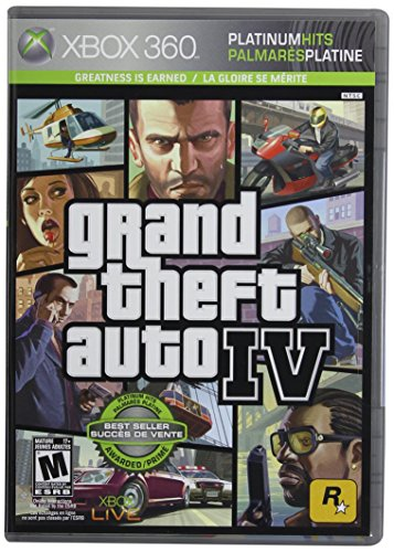 Grand Theft Auto Iv Xbox 360 Game - Grand Theft Auto IV