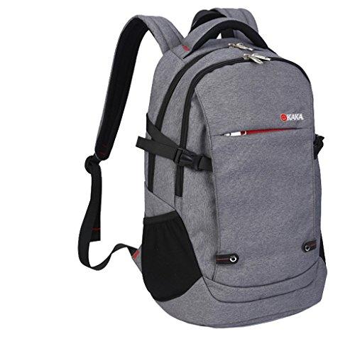 Super Modern Oxford - Mochila para portátil (apta como equipaje de mano), verde gris
