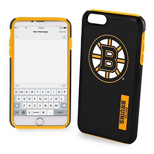 NHL Boston Bruins Impact TPU 2-Piece Dual Hybrid iPhone 7 / 6 / 6s Cover - 4.7