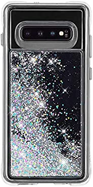 Case-Mate - Waterfall - Samsung Galaxy S10 Liquid Glitter Case - Iridescent