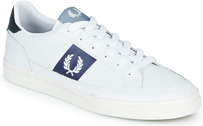 Fred Perry Deuce Leather B8198100 Size