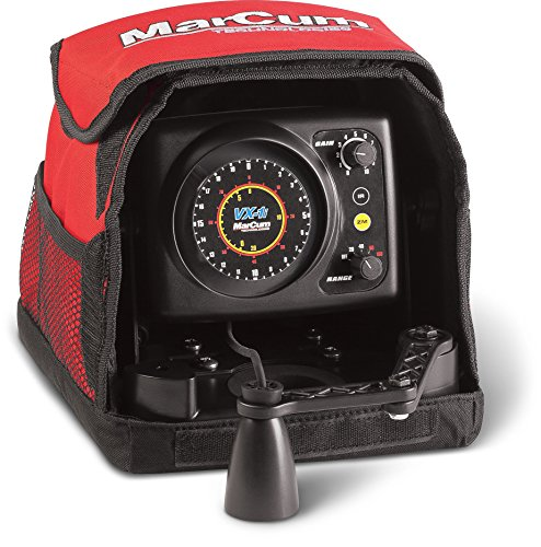 Marcum VX-1i Sonar Flasher System, Red/Black primary