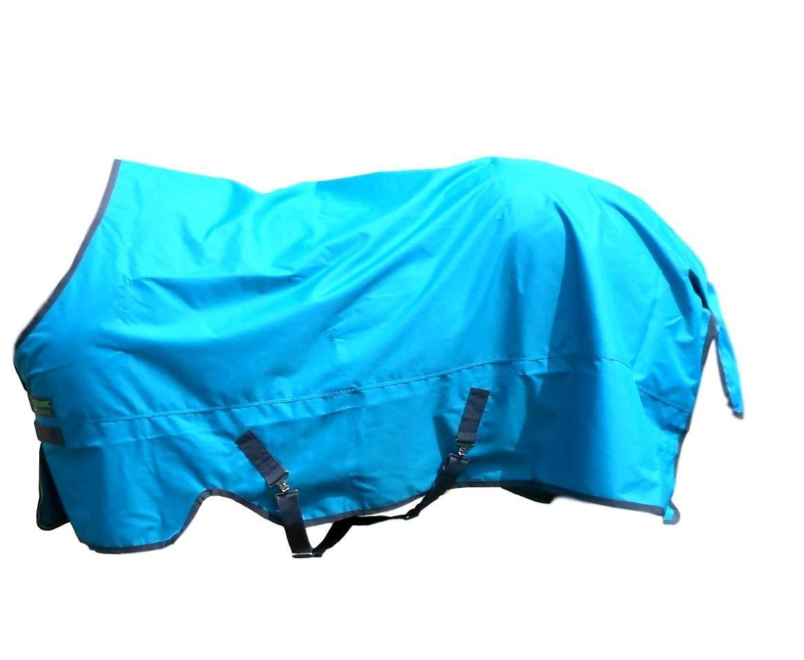 Horseware Turnout Sheet Lite Turquoise/Excalibur 78 by Horseware (Image #1)