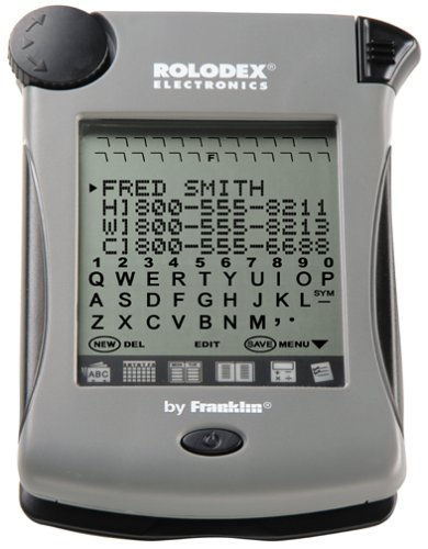Franklin Rolodex Electronic Touch File