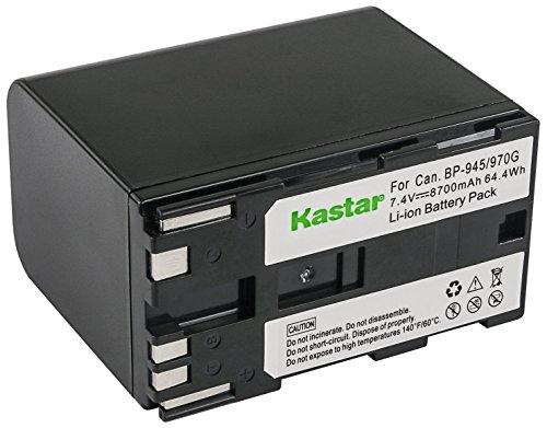 Kastar Battery for Canon BP-911, BP-911K, BP-914, BP-915, BP-924, BP-927, BP-930, BP-930E, BP-930R, BP-941, BP-945, BP-950, BP-950G, BP-970, BP-970G, 955, 975 and Canon XL1 XL1S XL2 GL1 GL2 XF305 more