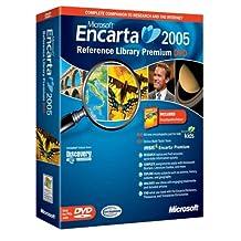 Microsoft Encarta Reference Library Premium 2005 DVD