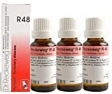 Dr.Reckeweg Germany R48 Pulmonary Respiratory Diseases Pack Of 3 by Dr. Reckeweg