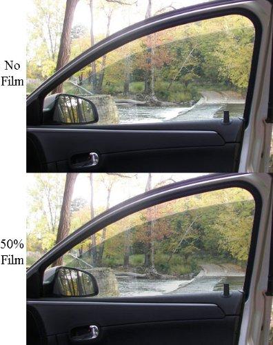 Professional 50% NR Automotive Window Tint - 20'' x 25 ft Roll