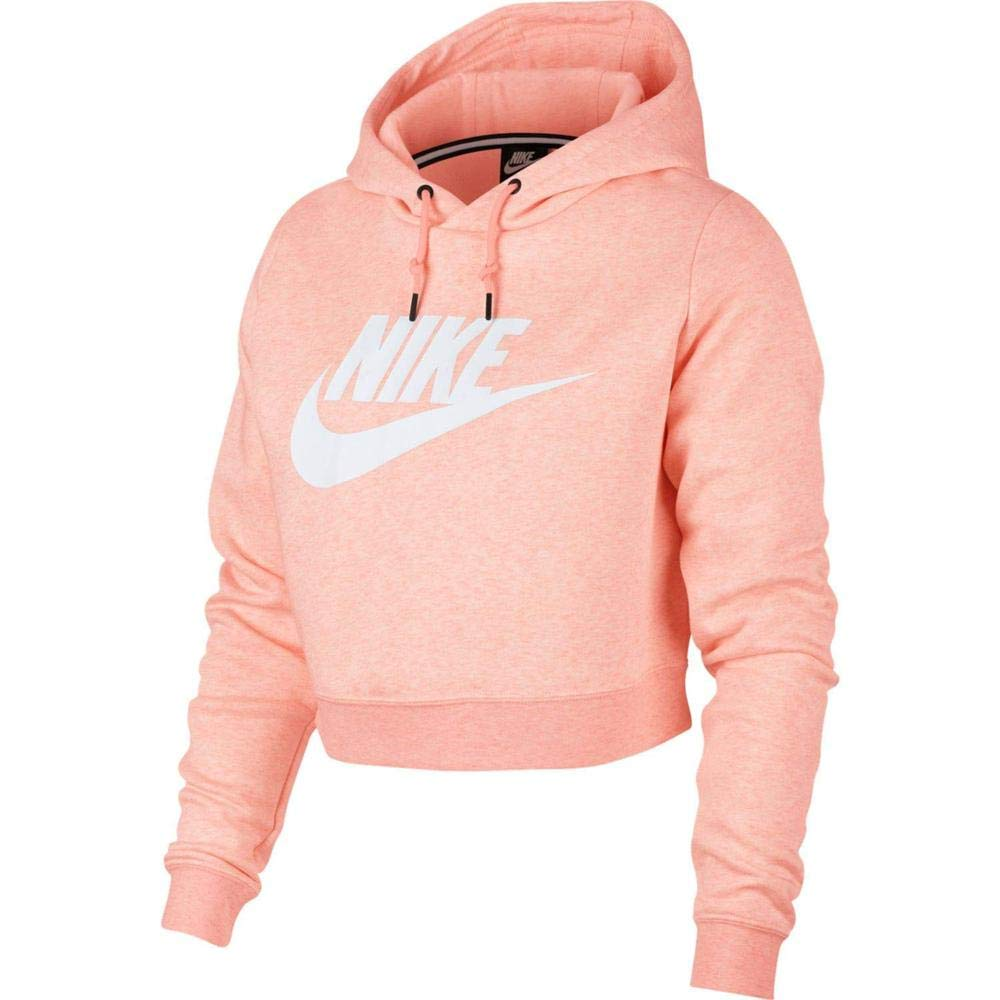 c491b6cd6 Nike Women's Sportswear Rally Cropped Hoodie at Amazon Women's Clothing  store: