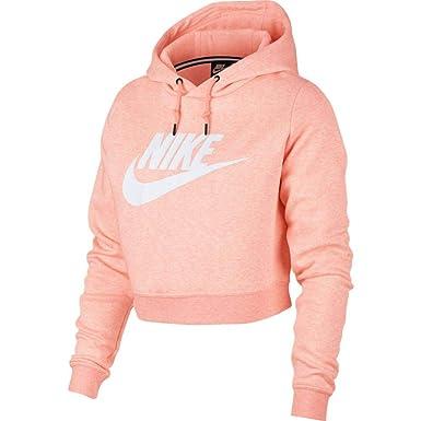 923b7491741 Nike Women s Sportswear Rally Cropped Hoodie at Amazon Women s ...