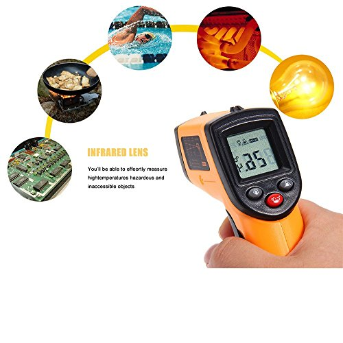 Infrared Thermometer GM320 Non-Contact Temperature Tester LCD Display IR Laser Point Gun Diagnostic-Tool Digital Thermometer