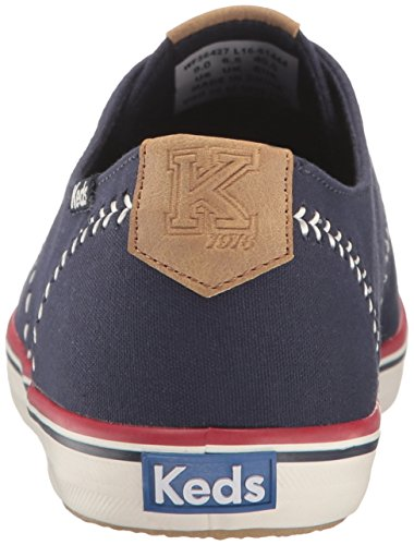 Keds Womens Champion Pennant Fashion Sneaker Peacoat Blu Marino