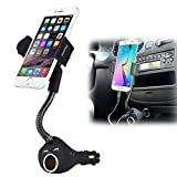 Dual Usb 2-Port Car Charger Cell Phone Mount - Best Reviews Guide
