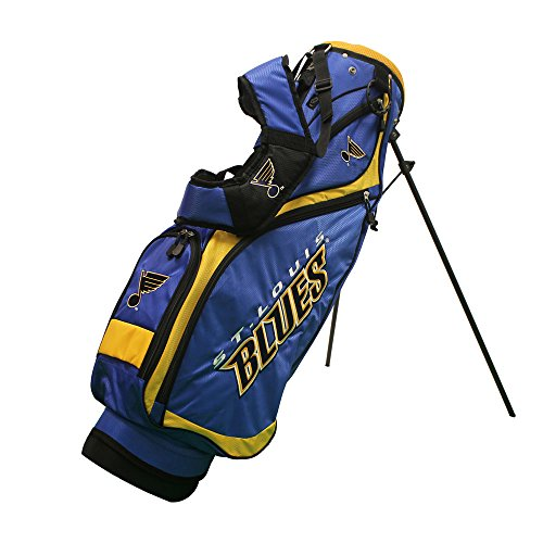 NHL St Louis Blues Nassau Golf Stand Bag, N/A, N/A by Team Golf