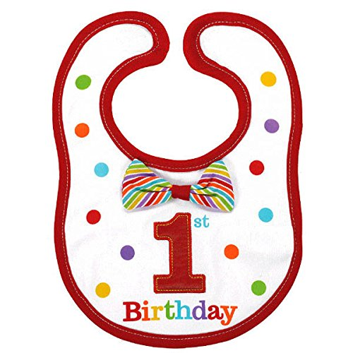 Amscan 1st Birthday Rainbow Bib-Boy for $<!--$5.25-->