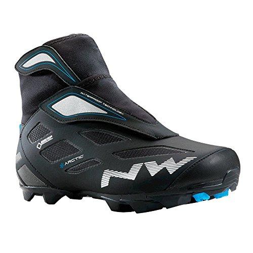 Northwave Celsius Arctic 2 GTX MTB Winter Fahrrad Schuhe schwarz/blau 2016: Größe: 45