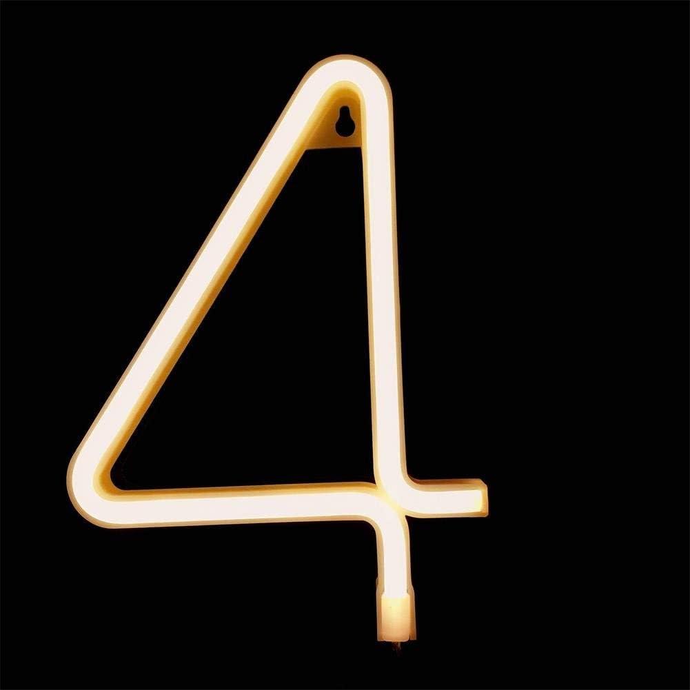0-9 Nummer 26 Buchstabe Licht Leuchte Alphabet Beleuchtung Nachtlichter Batterie//USB Powered DUBENS LED Neon Nachtlicht J f/ür Schlafzimmer Weihnachtsfeier Hochzeit Dekorationen