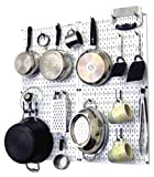 Wall Control Kitchen Pegboard Organizer Pots and