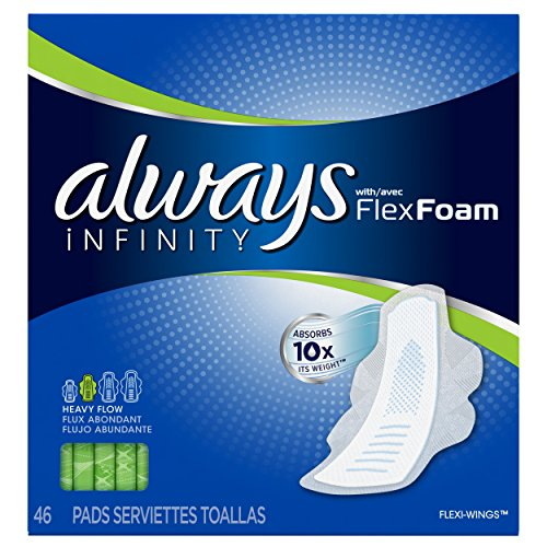 always-infinity-pads-with-wings-heavy-flow-46-count